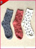 Winter-Frauen-Socken-Polyester-Material