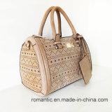 Großhandelsform-Frauen PU Laser-Handtaschen mit dem Beutel eingestellt (NMDK-051002)