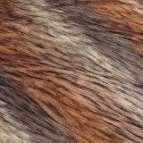 長い山の毛皮ファブリックFrのMacの毛皮の偽造品の毛皮ののどの毛皮の人工毛皮の