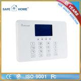 Sistema de alarma casero elegante sin hilos de la seguridad del panel de control