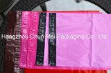 Мешок упаковки изготовленный на заказ розового цвета курьерский