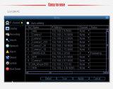 Degré de sécurité chaud DVR de télévision en circuit fermé de réseau de H. 264 16CH 4MP Onvif