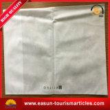 旅行サイズの枕箱の枕カバー飛行機は枕カバーを刺繍した