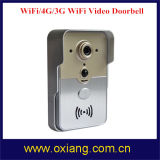 Intercomunicador video da maneira da sustentação 2 do Doorbell do telefone da porta de WiFi