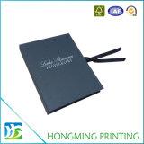 Caixa de presente luxuosa do cartão do papel do projeto da impressão de Hongming