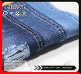 Tissu 100% de denim de sergé du polyester 9.8oz de coton