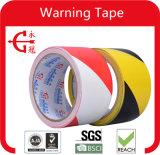 까만 노란 위험 PVC 테이프