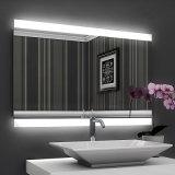 Specchio quadrato chiaro della parete illuminato LED dello schermo di tocco dell'hotel della stella