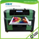 Imprimante à plat UV multifonctionnelle d'A3 Wer E2000UV DEL pour la caisse de téléphone de silicones