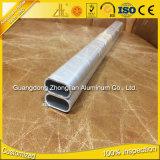 Tube ovale en aluminium de tube d'Alu d'approvisionnement d'usine de profil en aluminium ovale plat d'extrusion