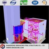 무거운 강철 구조물 건물이 세륨에 의하여 직업적인 디자인 증명서를 줬다