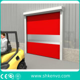 PVCファブリック倉庫のための高速圧延のドア