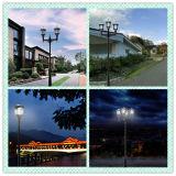 Fábrica solar ligera moderna de China de la iluminación de la calzada del paisaje del diseño LED