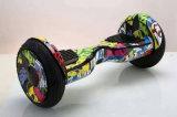 Individu sec de deux roues de 10 enfants de pouce équilibrant la planche à roulettes électrique d'enfant de Hoverboard de scooter