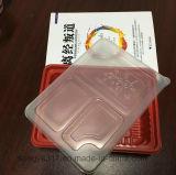 Caixa transparente quadrada do empacotamento plástico do alimento dos PP