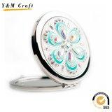 Specchio Pocket poco costoso del metallo/specchio promozionale dell'estetica del regalo