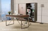 가죽 (WE02)를 가진 간단한 신식 사무실 테이블
