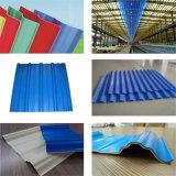 上塗を施してある波形の屋根ふきパネル10年の保証の100%年のSabic Lexanの明確なカラーかシート
