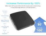 Rectángulo del androide 6.0 TV, edición 2017 de Model Limited más el rectángulo elegante de la TV con el soporte hecho salir 4khdr @ 60Hz HD lleno de los dígitos binarios HDMI 2.0 del procesador 64 de la base A53 del patio de Amlogic S905X
