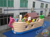 Riesigen Noahs Archen-aufblasbarer Spielplatz für Kinder