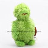 Giocattoli lunghi della bambola del fumetto di Minifigure di verde del tessuto della peluche per il regalo di promozione