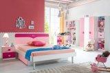 2017 plaatst het Modieuze Meubilair van de Slaapkamer het Houten Roze Bed van Jonge geitjes