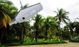 2 años de la garantía de la luz solar del jardín de luces de calle solares integradas elegantes todas en una