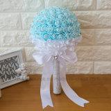 El partido suministra el ramo nupcial de la flor de EVA de la boda