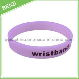 Wristband molle di sbiadimento Wristband/UV di modo su ordinazione