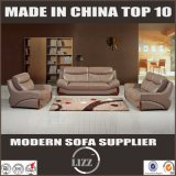 Insieme sezionale moderno del sofà del cuoio dell'ufficio del sofà