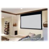16 9 100 proiezione anteriore dello schermo elettrico del proiettore di tensionamento della tabulazione di pollice HD