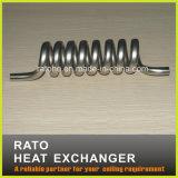 Serpentinas de aquecimento de aço inoxidável e de cobre