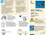 De originele e-Reeksen Enerpac HandMultiplicatoren van de Torsie