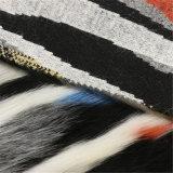 Tessuto di lana della pelliccia variopinta per la mano protettiva delle donne