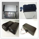 Nuevo paquete de la batería de la batería 48V 10ah LiFePO4 de la parte posterior de la parte posterior para la E-Bici