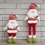 Juguete relleno felpa del regalo de la Navidad del juguete de Santa