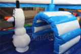 Inflável Frozen Theme Bouncer Combo Bouncy Castle com Slide (CHB1128)