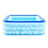 150cm Kurbelgehäuse-Belüftungaufblasbares Swim-Pool für Familie