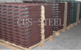 標準的な石の上塗を施してある金属の屋根瓦か屋根ふきシート(1320*420*0.45mm)