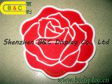 Sottobicchiere di carta creativo dello Shaper dei fiori, sottobicchiere della barra, stuoie di posto di Restaranut, sottobicchiere di Caff con lo SGS (B&C-G113)
