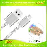 Новый USB штепсельной вилки металла для того чтобы напечатать кабель на машинке c