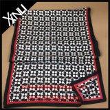 Bufanda larga de encargo de la impresión de la seda del 100% con el rectángulo del sobre