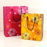 중국에 있는 종이 봉지가 고품질에 의하여 꽃이 핀다