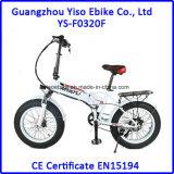 Bicicleta Electrica com a forquilha gorda da suspensão do pneu 4.0inch