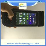 プリンター、バーコードのスキャンナー、RFIDの読取装置との人間の特徴をもつPDA