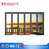 Porte coulissante en aluminium personnalisée de plus défunt modèle à haute teneur pour la terrasse