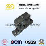 OEMの合金鋼鉄は機械化を用いるFlangの部品のためのダイカストを