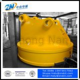 Dia-800mm Circular Lifting Magnet for Excavator Installation with 150 Kg Steel Scrap Lifting Capacity
