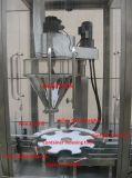 Máquina de rellenar tecleada rotatoria automática del taladro del polvo del helado