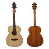 Guitarra acústica superior sólida hecha a mano 40-Inch de Aiersi con Okoume (SG02SO-40)